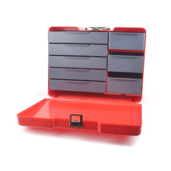 CORE RC POLYBUTLER PIT BOX – RED