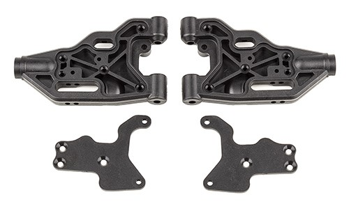 RC8B3.2 FT Front Lower Suspension Arms, HD